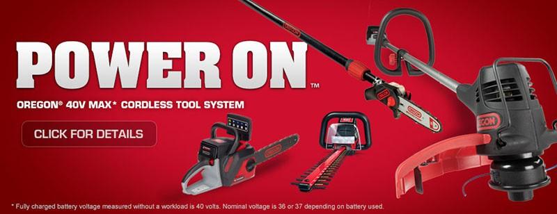 Oregon 40V Max Cordless Tool System