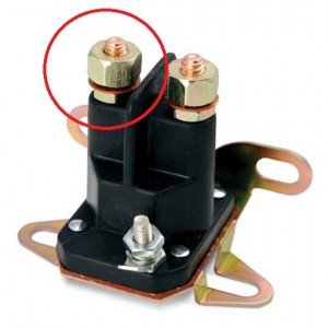 four post solenoid battery terminal