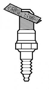 sandpaper plug