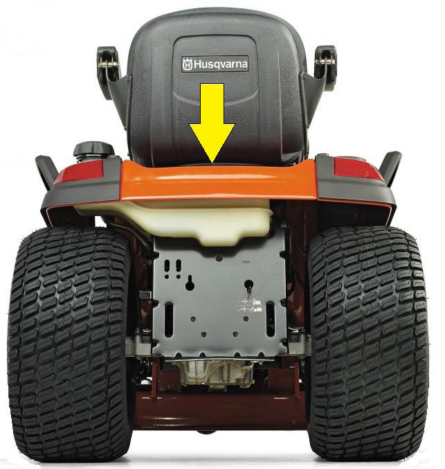Husqvarna Riding Mower Model Number Location