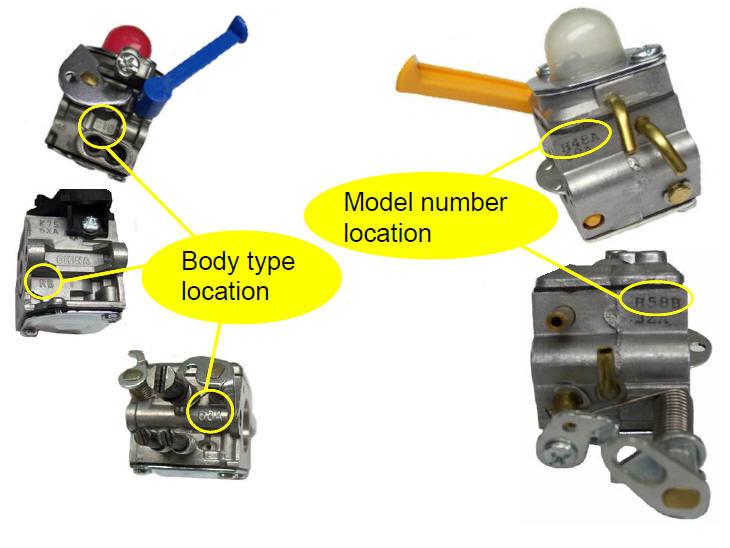 spark plug location