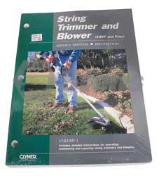 CLYMER STR-3 SERVICE MANUAL - TRIMMERS & BLOWERS