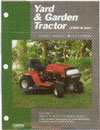 CLYMER YGT3-1 SERVICE MANUAL SMALL TRACTOR 1990 & NEWER