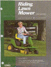 CLYMER RLMS2-1 SERVICE MANUAL RIDING MOWER 1992 & NEWER