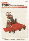 CLYMER P210 SERVICE MANUAL TORO COMMERCIAL HYDRO WALKS