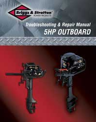 BRIGGS AND STRATTON 275110 OUTBOARD REPAIR MANUAL