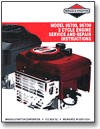 BRIGGS AND STRATTON-800100-Briggs & Stratton 2-cycle Repair Manual - 800100