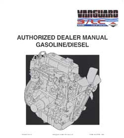 BRIGGS AND STRATTON MS0729 Briggs & Stratton 3 Cylinder liquid cooled engine repair manual - MS0729