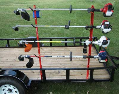 Jungle Jims 4TR Trimmer Rack