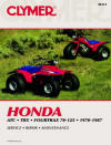 Honda ATC, TRX and Fourtrax Repair Manual