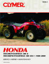 Honda TRX300/Fourtrax 300 and TRX300FW/Fourtrax 4x4, 1988-2000 Repair Manual