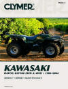 Kawasaki Bayou KLF300 2WD and 4WD, 1986-2004 Repair Manual
