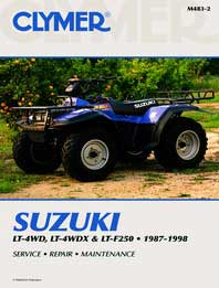 suzuki quadrunner lt185 lt 185 full service repair manual 1984 1987