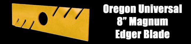 "Oregon Universal 8"" Magnum Edger Blade"