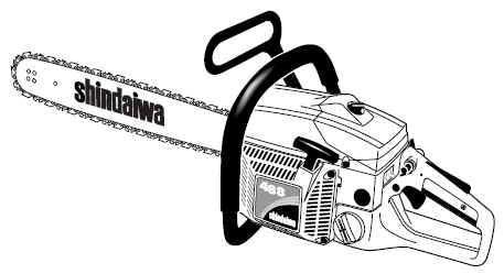 Shindaiwa 488 Chain Saw Parts