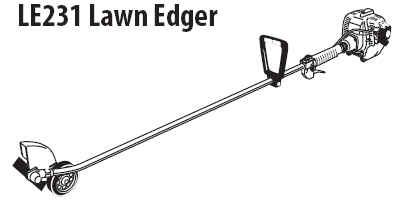 Shindaiwa LE231 Edger Parts
