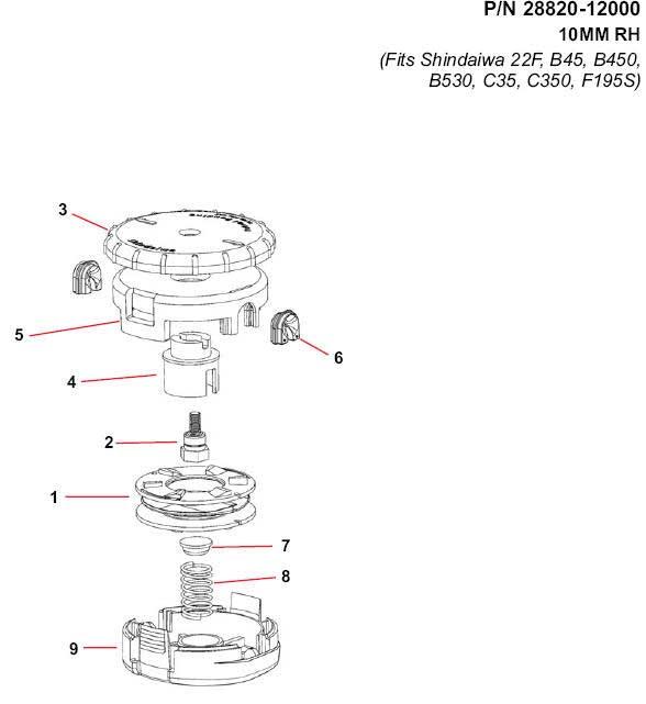 Shindaiw Speed-Feed 450 28820-12000 Pars Diagram