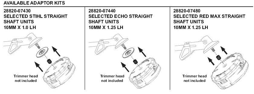 Shindaiw Speed-Feed 450 Adaptor Pars Diagram