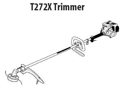 Shindaiwa T272X Trimmer Parts