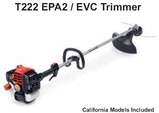 Shindaiwa T222 Trimmer Parts