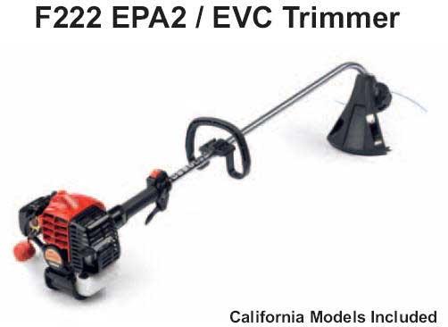 Shindaiwa F222 Trimmer Parts