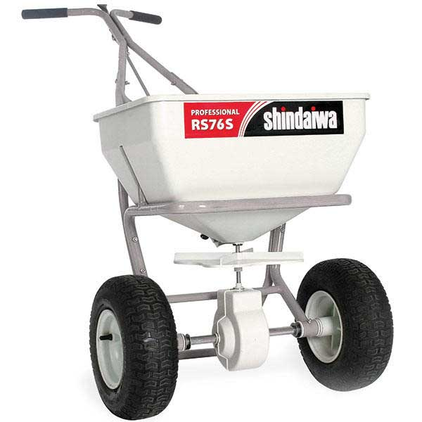 SHINDAIWA RS76S BROADCAST SPREADER, REPLACES RS75S