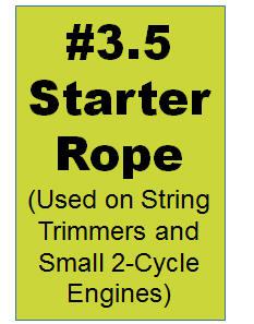 #3.5 Starter Rope