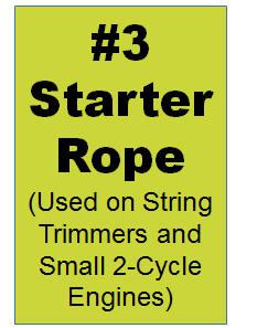 #3 Starter Rope