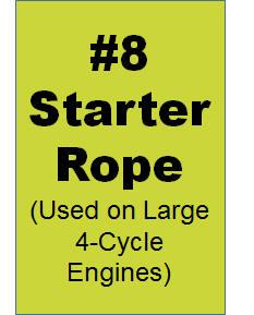 #8 Starter Rope