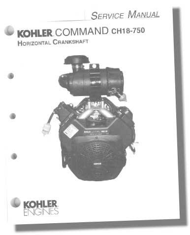 Kohler TP2428C Engine Service Manual For Twin Cylinder Command Engines