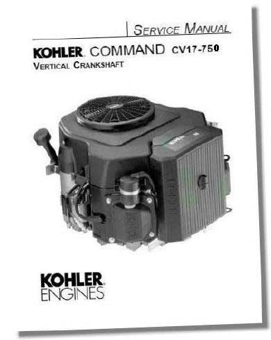 Kohler TP2450C Engine Service Manual For Twin Cylinder Command Engines