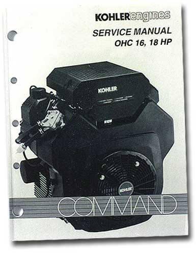 Kohler TP2480 Engine Service Manual For Twin Cylinder Ohc Command Engines
