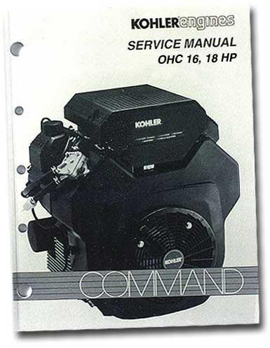 Kohler TP2480 Engine Service Manual For Twin Cylinder Ohc Command Engines