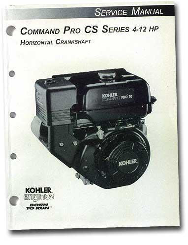 Kohler TP2503A Engine Service Manual For Command Pro Cs Single Cylinder