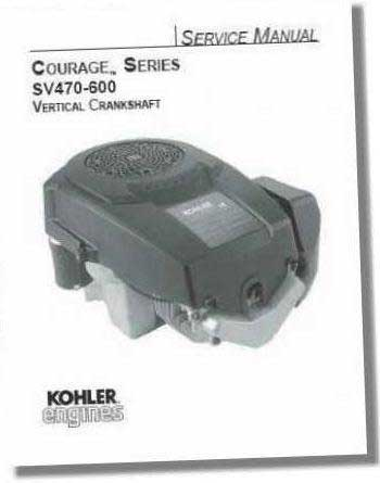 Kohler TP2548 Engine Service Manual For Single Cylinder Courage Series Engines