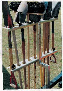 TrimmerTrap TR-1 Portable Hand Tool Rack