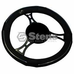 STENS 051-943 STEERING WHEEL COVER UNIVERSAL BLACK