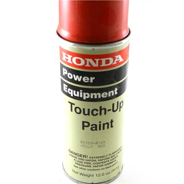 honda 08707 r165 jolly red aerosol touch up paint pkg of