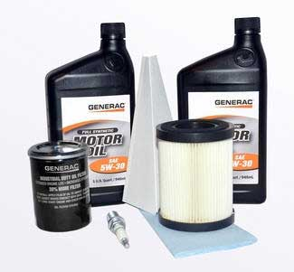 Generac 0J57640SSM Synthetic Maintenance Kit - 8Kw (2008 And Up)