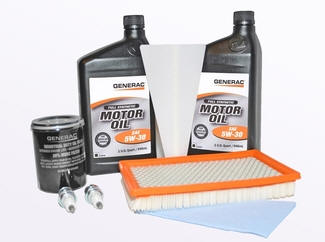 GENERAC 0J57840SSM Synthetic MAINTENANCE Kit - 6kW Eco-Gen