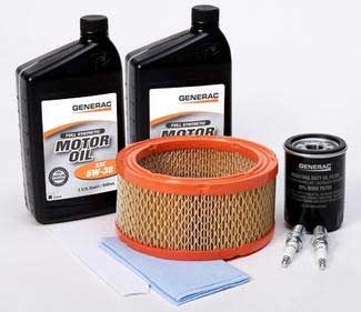 GENERAC 0J62470SSM Synthetic MAINTENANCE Kit for 8kW Generac Generator (Pre-2008)
