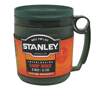 STANLEY 10-00631-000 INTERLOCKING CAMP MUGS GREEN