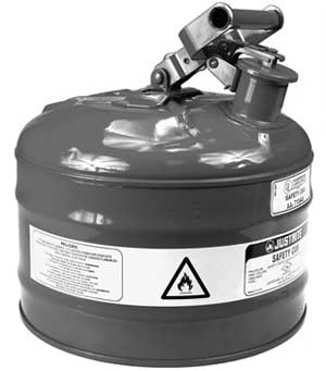 ROTARY 32-11992 SAFETY GAS CAN TYPE 1 METAL 2 GALLON