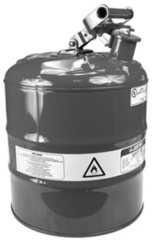 ROTARY 32-11993 SAFETY GAS CAN TYPE 1 METAL 5 GALLON