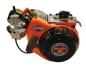 BRIGGS AND STRATTON 124332-8201-01 LOCAL OPTION 206 RACING ENGINE
