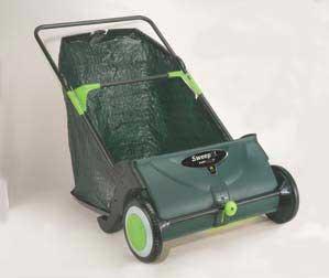 YARDWISE 13630YW 25-Inch Sweep It Push Yard Sweeper