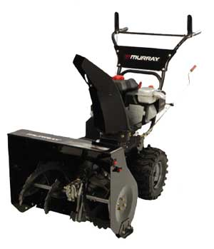 "MURRAY 1695539 24"" Dual Stage Snow Thrower"