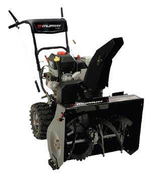 "MURRAY 1695719 27"" Dual Stage Snow Thrower"