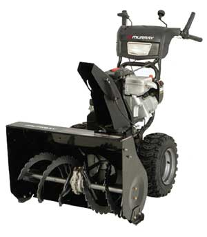 "MURRAY 1695722 27"" Dual Stage Snow Thrower"