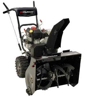 "MURRAY 1695835 27"" 205cc TWO-STAGE SNOW BLOWER"